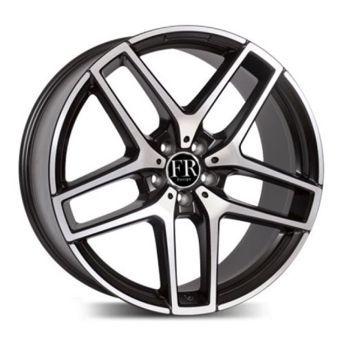FR Replica MR1018 21x11.0 5x112 ET38 d.66.6 MBM